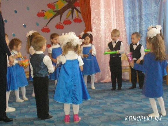 Дети экспериментируют со звуками во время песни