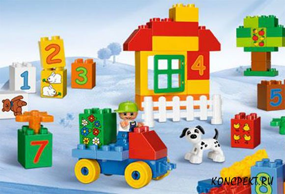Легоконструирование в детском саду