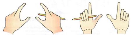 Держите карандаши в руках