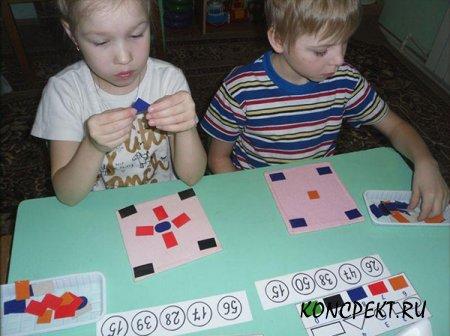 Обучение дошкольников математике
