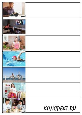Schreiben Sie zu jedem Bild zwei-drei Sätze