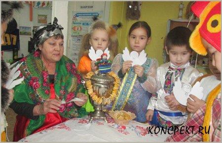 Рождественские посиделки в детском саду