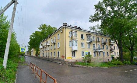 Улица Петракова в Новокузнецке