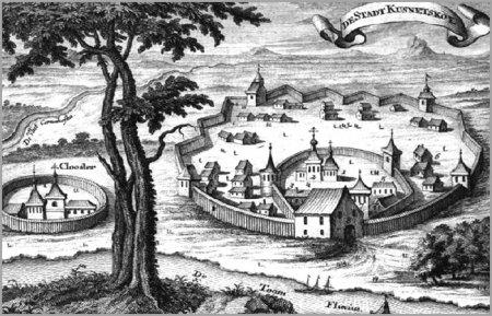 Кузнецкий острог 1618 г.