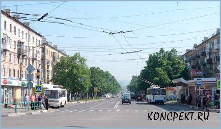 Улица Бардина в Новокузнецке