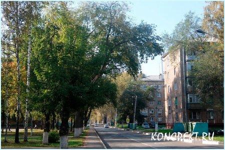 Улица Клименко в Заводском р-не г. Новокузнецка