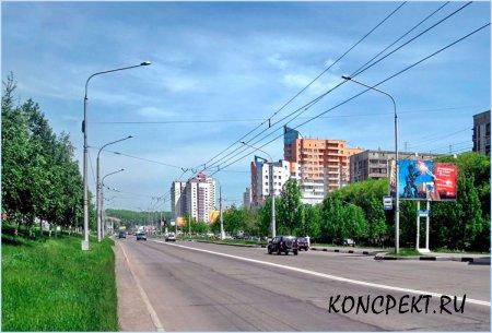 Улица Павловского в Центральном р-не г. Новокузнецка