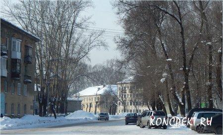 Улица Тузовского в Новокузнецке