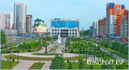 Улица Ермакова - самая современная в Новокузнецке