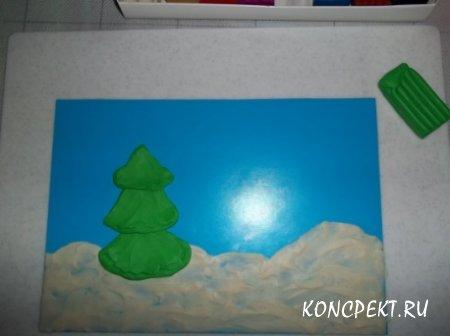 Рисуем елочку