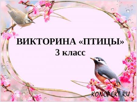 Викторина о птицах