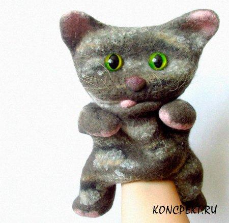 Котенок (кукла бибабо)