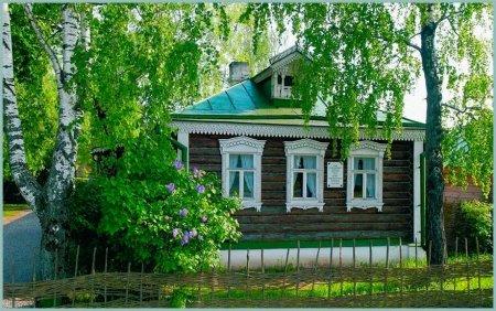 Дом где вырос поэт