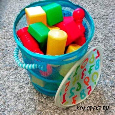 Корзина с кубиками