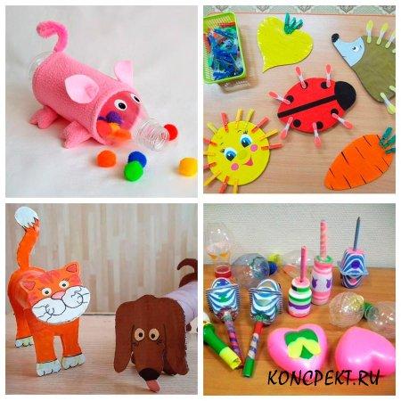 Выставка игрушек по окончании проекта
