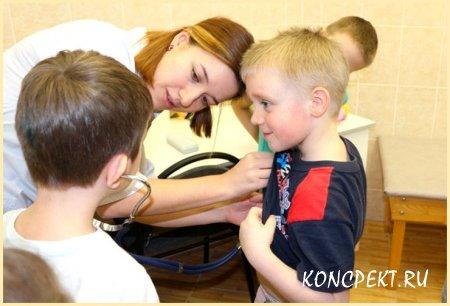 Медсестра детского сада