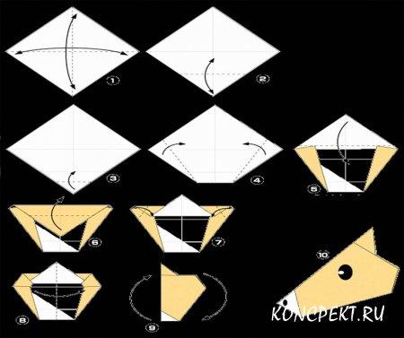 Инструкция по изготовлению игрушки из бумаги