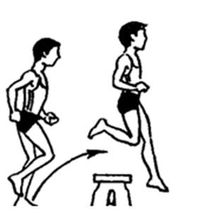 Прыжки через скамейки