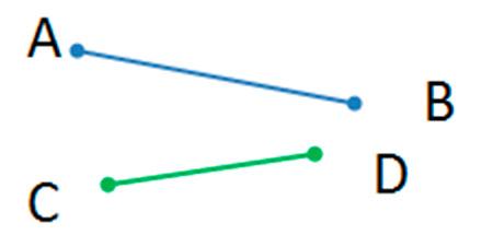 Измерь длины отрезков