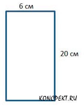 Вычисли периметр прямоугольника