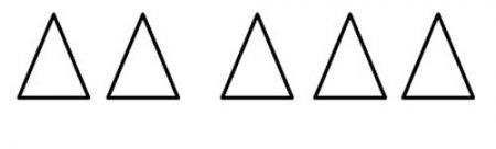Подсчитай треугольники
