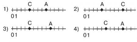 Точки А(9) и С(4)