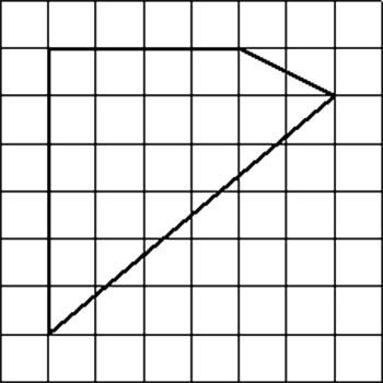 Найди площадь многоугольника