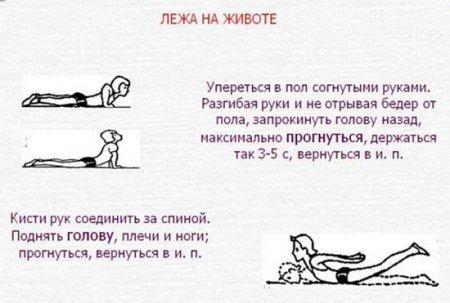 Комплекс упражнений 2