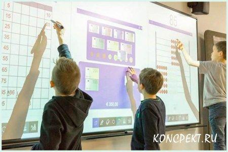 Использование интерактивной доски на уроке