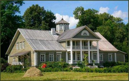 Дом Пушкина в Михайловском