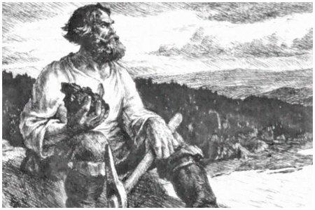 Михайло Волков (XVIII в.) — сибирский рудознатец