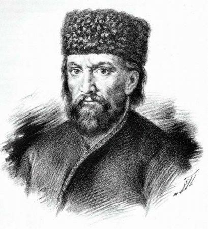 Пугачев Емельян - предводитель бунта 1773-1775 г. в России