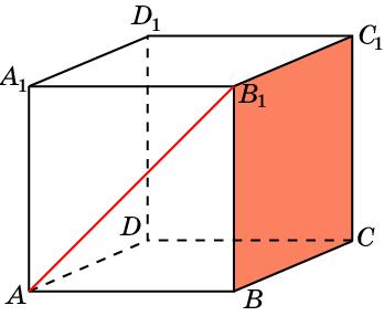 Найдите угол между прямой и плоскостью