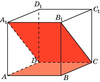 Найдите угол между плоскостями ABC и CDA1