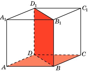Найдите угол между плоскостями в кубе
