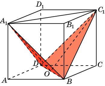 Найдите угол между плоскостями BC1D и BA1D