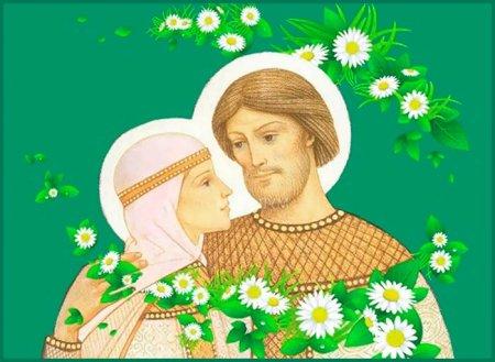 Изображение Петра и Февронии