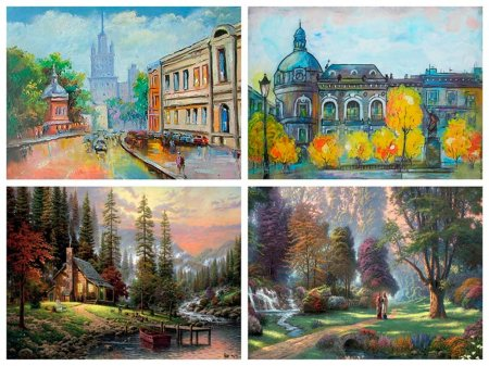 Примеры пейзажей