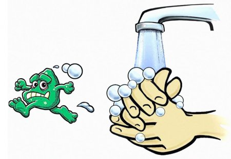 Мойте руки для профилактики коронавируса