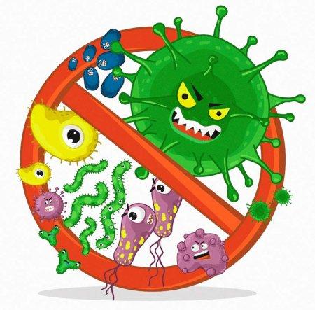 """Плакат """"Стоп-коронавирус"""""""