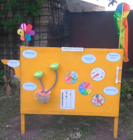 Метеостанция на площадке в детском саду