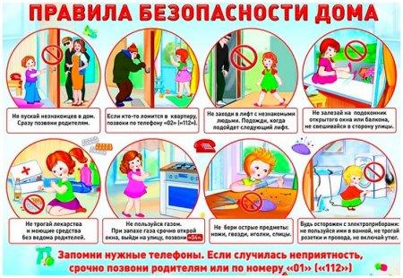 Правила безопасности дома