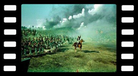 На экране Аустерлицкое сражение