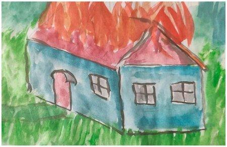 Все горит: и дом, и двор...