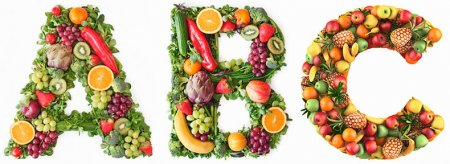 Витамины в овощах и фруктах