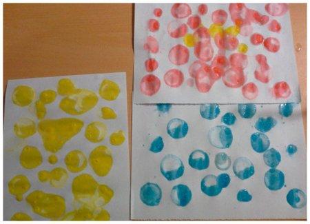 Мыльные пузыри - рисунки детей