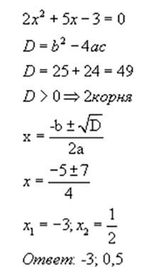 Уравнение с двумя одинаковыми корнями