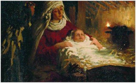 "И. Репин ""Рождество Христово"""
