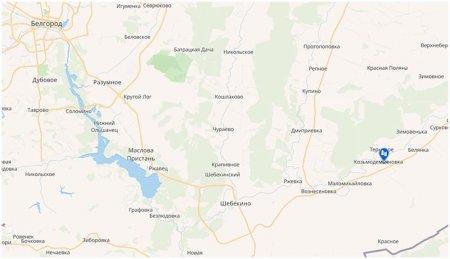 с. Козьмодемьяновка на карте