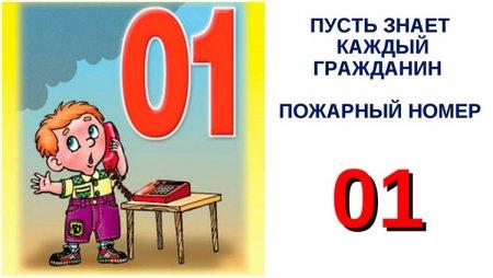 """Слайд """"Пожарный номер 01"""""""